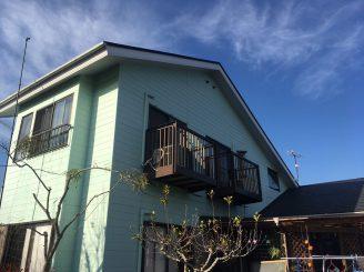東海村 U様邸 屋根外壁塗装工事