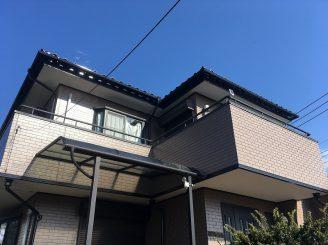 東海村O様邸外壁塗装工事