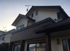 東海村Ⅰ様邸外壁塗装工事(マルチカラー)