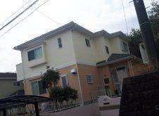 日立市 E様邸  屋根、外壁塗装工事